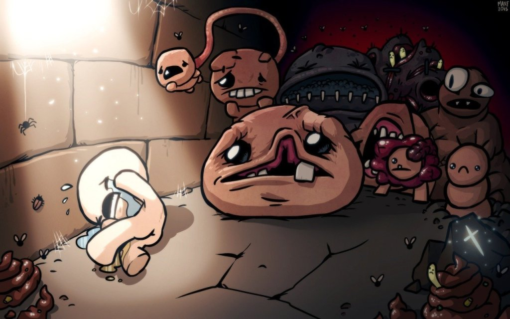 Игра The binding of Isaac afterbirth plus